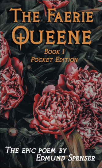 Faerie Queene Book 1 Edmund Spenser Cover Epic Poetry 16th Century